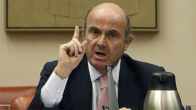 """De Guindos admite que la designación del puesto de Soria es """"discrecional"""""""