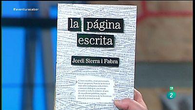 La Aventura del Saber. TVE. Libros recomendados. La p�gina escrita. Jordi Sierra i Fabra.
