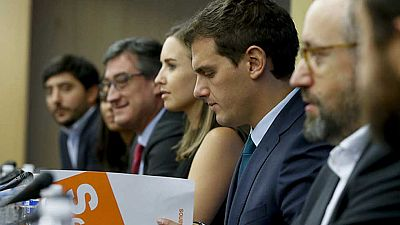Ciudadanos pide como condición indispensable para mantener el apoyo a Rajoy la dimisión de Barberá