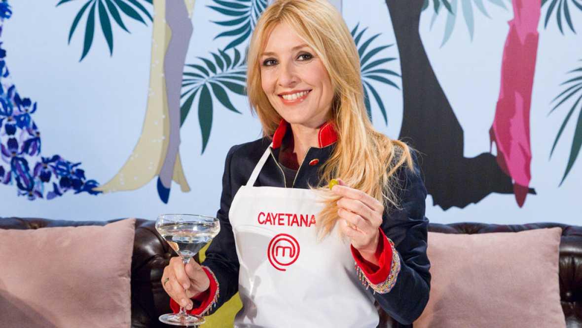 MasterChef Celebrity - Cayetana Guillén Cuervo, contenta e ilusionada