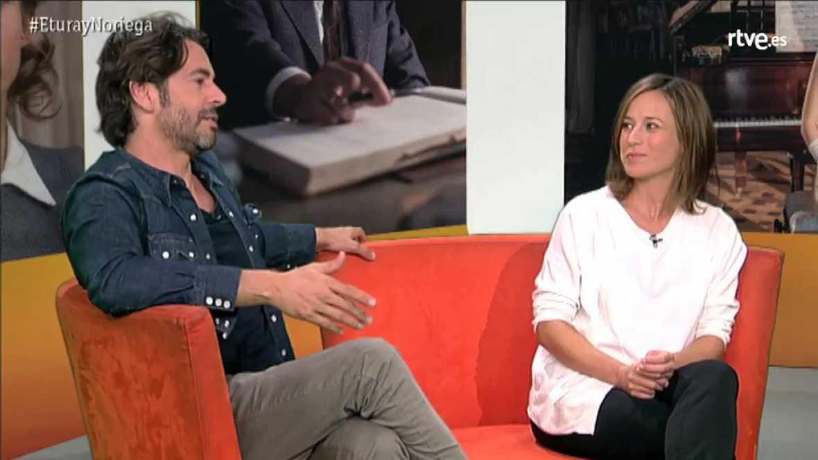 Marta Etura y Eduardo Noriega, protagonizan el primer videoencuentro de La sonata