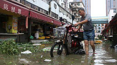 El tifón Meranti  llega a las costas de China tras dejar un muerto y 51 heridos en Taiwán