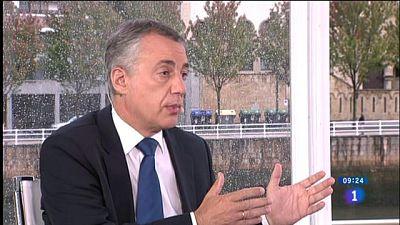 """Urkullu alerta de un pacto entre Bildu y Podemos para impedirle gobernar: """"Hay que mantener la estabilidad"""""""