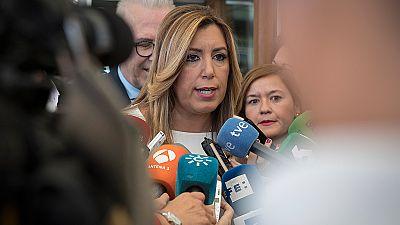 Susana Díaz da por seguro un Comité Federal del PSOE después del 25S