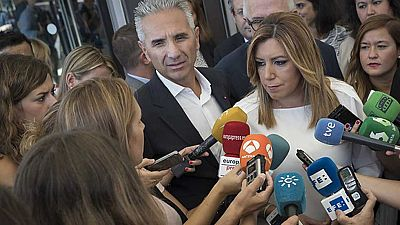Susana Díaz defiende la honestidad de Chaves y Griñán