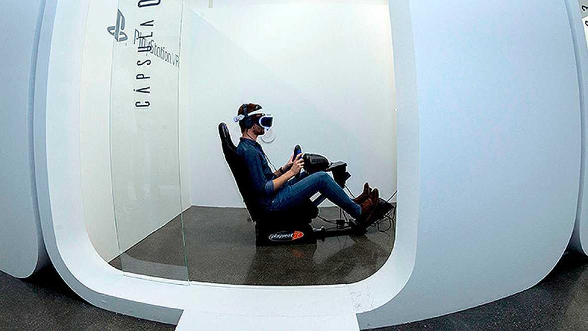 'Cápsulas' para probar en Madrid experiencias de realidad virtual