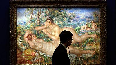 Renoir entre Mujeres, la interpretación de la figura femenina del pintor impresionista llega a Barcelona en una exposición