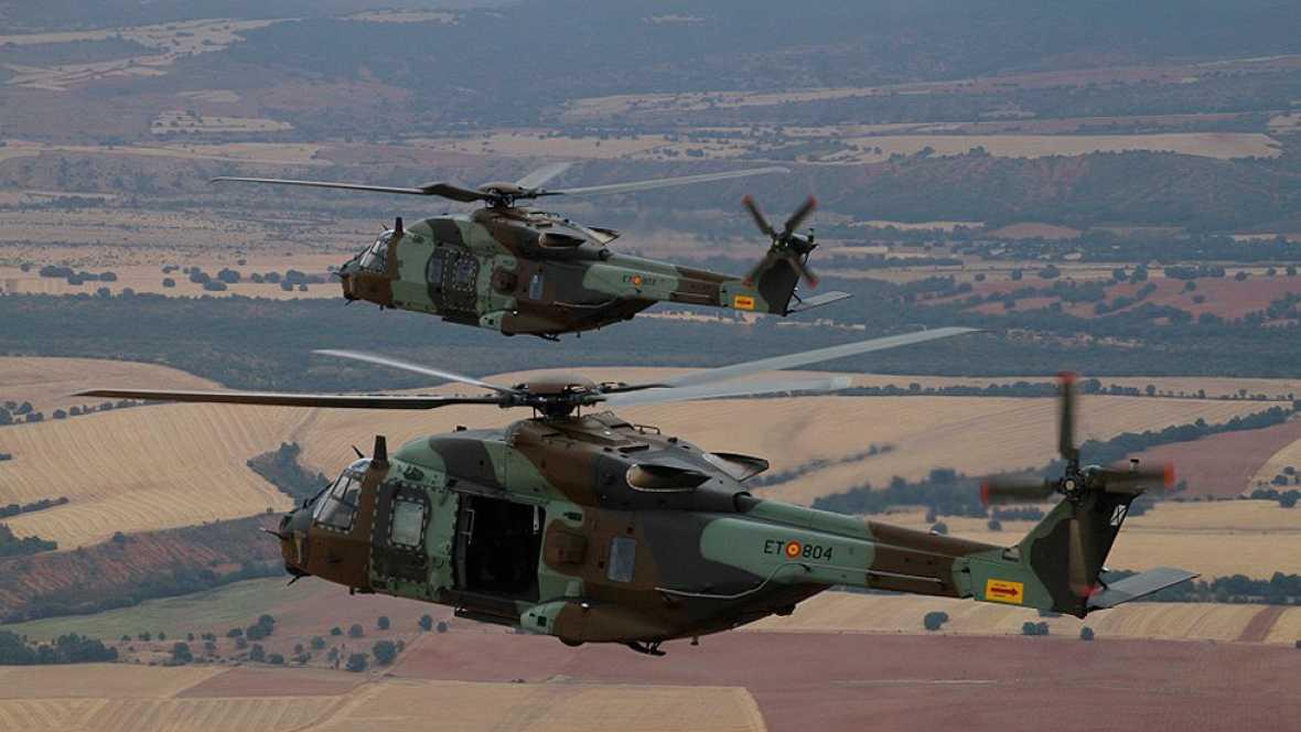 """El Ejército de Tierra cuenta ya con los primeros helicópteros de maniobra """"Caimán"""""""