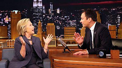 Hillary Clinton demuestra que sabe encajar una broma