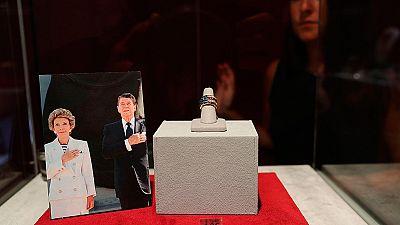 Salen a subasta los objetos personales de los Reagan