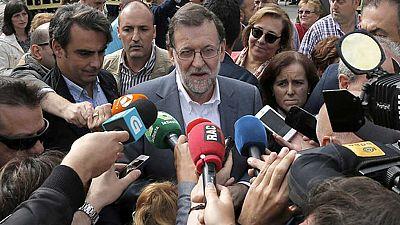 """Rajoy asegura que el del PP es el """"único proyecto estable y moderado"""" para Galicia"""