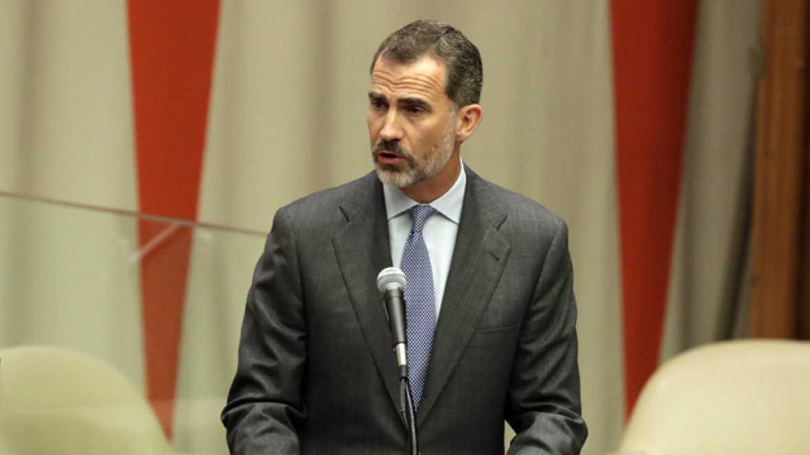 """Felipe VI apela a la responsabilidad de acoger a personas refugiadas para que """"puedan llevar una vida digna"""""""