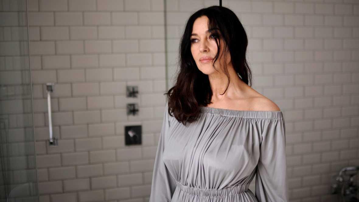 Monica Bellucci presenta su última película en el Festival de cine de San Sebastián