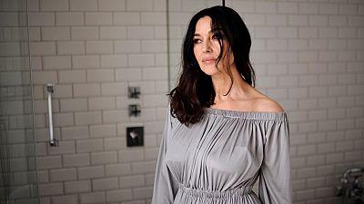 Monica Bellucci presenta su �ltima pel�cula en el Festival de cine de San Sebasti�n