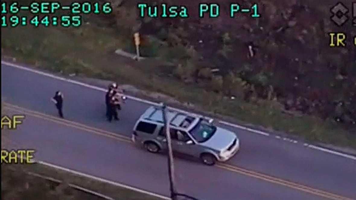 La Policía mata a tiros a un hombre negro desarmado al que se le había averiado la camioneta en Tulsa