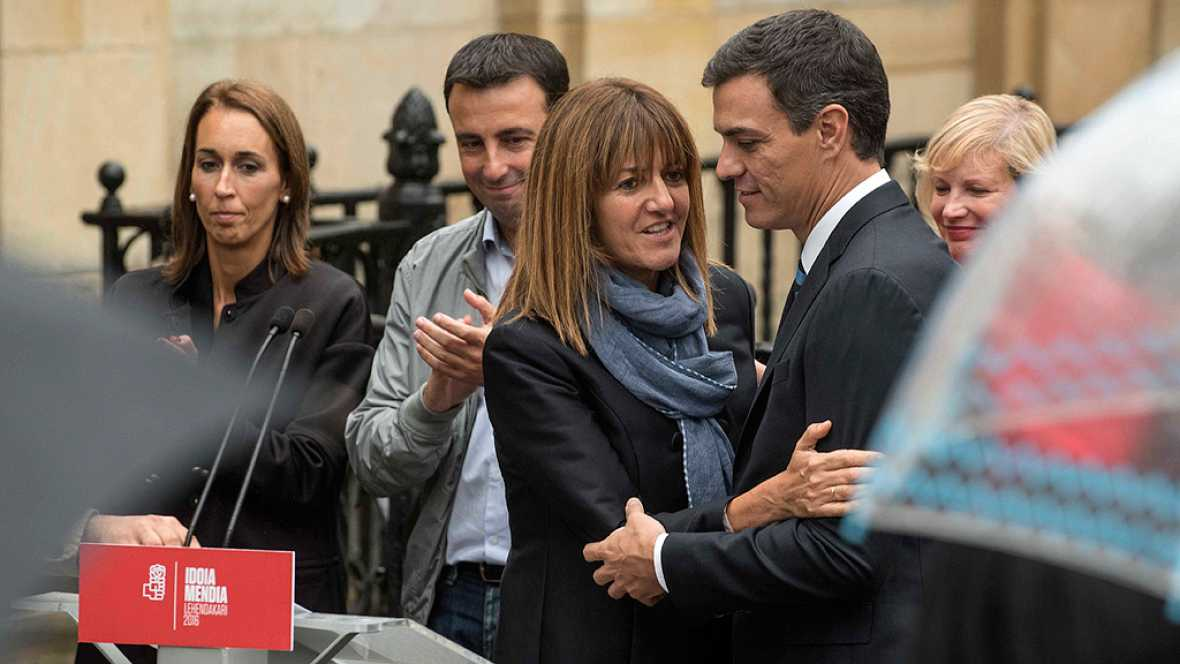 """Pedro Sánchez se compromete a """"un mayor autogobierno"""" para el País Vasco"""