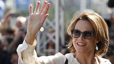 Sigourney Weaver llega al Festival de cine de San Sebastián para recoger el Premio Donostia