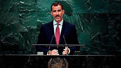 """Felipe VI subraya la capacidad de España para superar """"coyunturas complejas"""""""