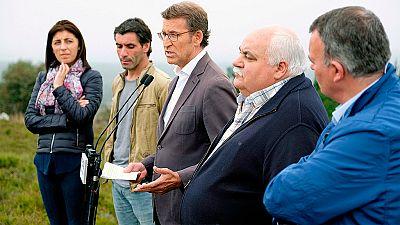 Elecciones Galicia 2016 | Feijóo pide un voto de unidad y Leiceaga critica el voto del miedo
