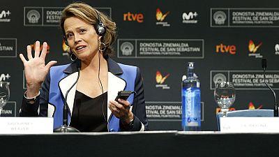 Sigourney Weaver, Premio Donostia por el conjunto de su trayectoria en el Festival de cine de San Sebasti�n