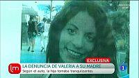 Valeria acusa a su madre de malos tratos f�sicos y psicol�gicos