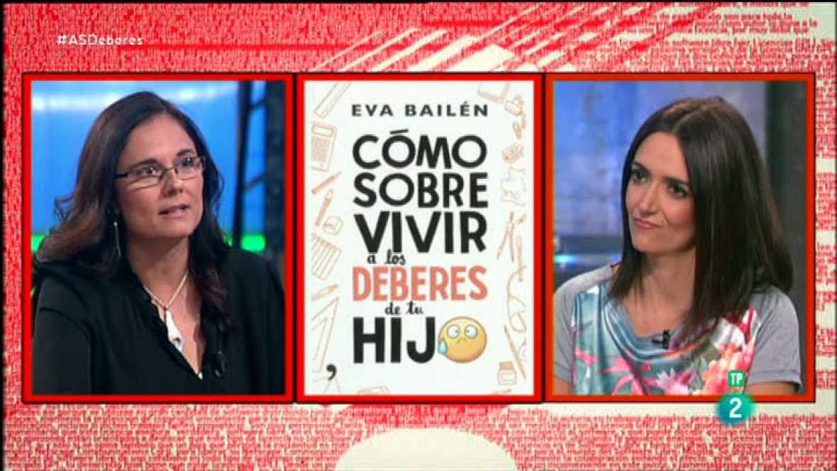 La Aventura del Saber. TVE. Eva Bailén 'Cómo sobrevivir a los deberes de tu hijo'. Change.org