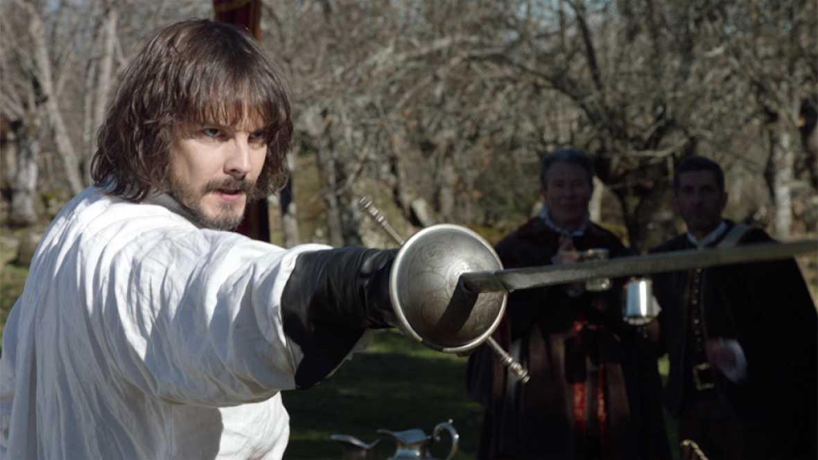Águila Roja - Gonzalo se bate en duelo con el maestro de armas de la casa real