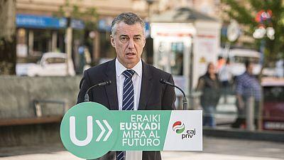 Última jornada de campaña electoral en el País Vasco