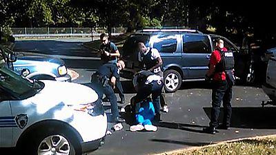 Un vídeo muestra el momento del tiroteo en Charlotte