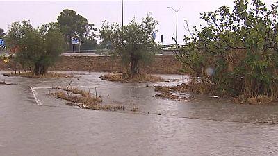 Alerta por lluvias en la Comunidad Valenciana, Baleares y Cataluña