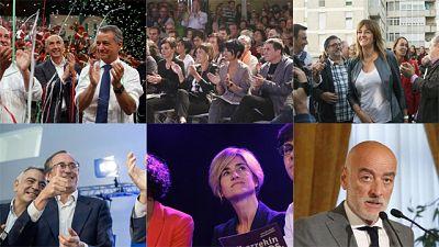 Final de la campaña electoral vasca y últimos mensajes de los candidatos