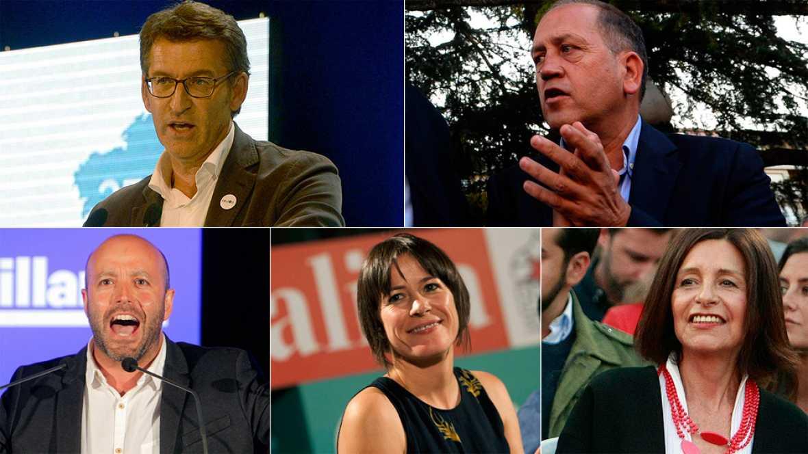 Final de la campaña electoral gallega y últimos mensajes de los candidatos