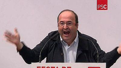 """Iceta a Sánchez: """"¡Pedro, mantente firme, líbranos de Rajoy y del PP, por Dios, aguanta!"""""""