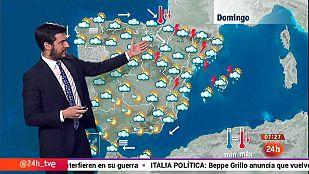 Tormentas fuertes en Cataluña y chubascos en Baleares y Comunidad Valenciana