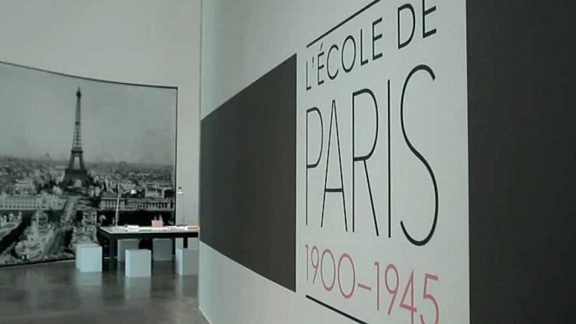La sala: Guggenheim - Panoramas de la ciudad. La escuela de París 1900-1945 - ver ahora