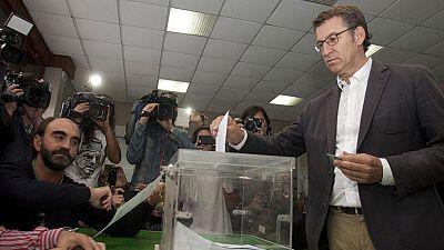 Los líderes políticos gallegos instan a participar con normalidad en la jornada electoral en Galicia