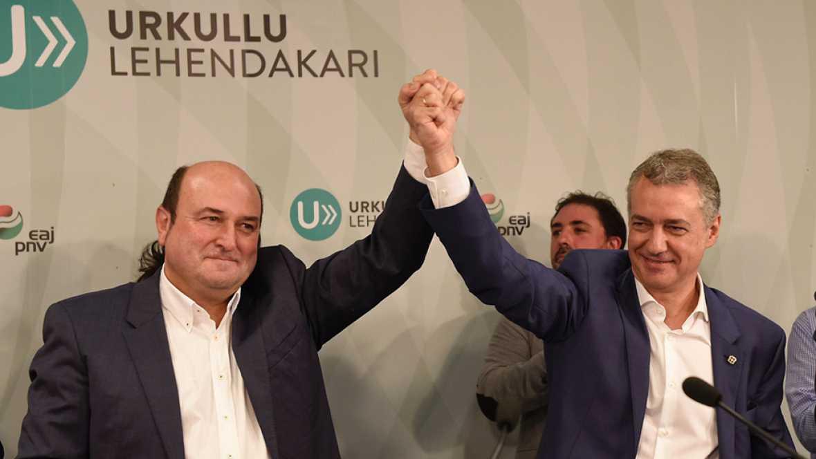 """Iñigo Urkullu: """"Vamos a trabajar por un nuevo pacto con el Estado de igual a igual"""""""