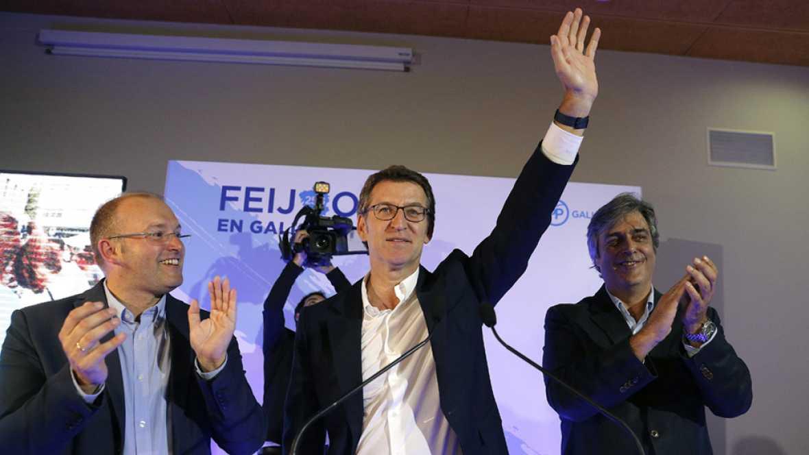 """Feijóo: """"En Galicia no habrá bloqueos, ni líneas rojas, ni parálisis. Galicia no se va a parar"""""""