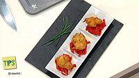TIPS -  Cocina - Bu�uelos de merluza con pimiento del piquillo