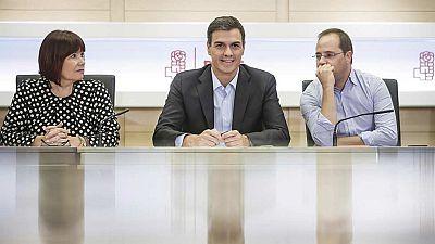 Sánchez anuncia a la Ejecutiva del PSOE que quiere primarias en octubre y Congreso Federal en diciembre