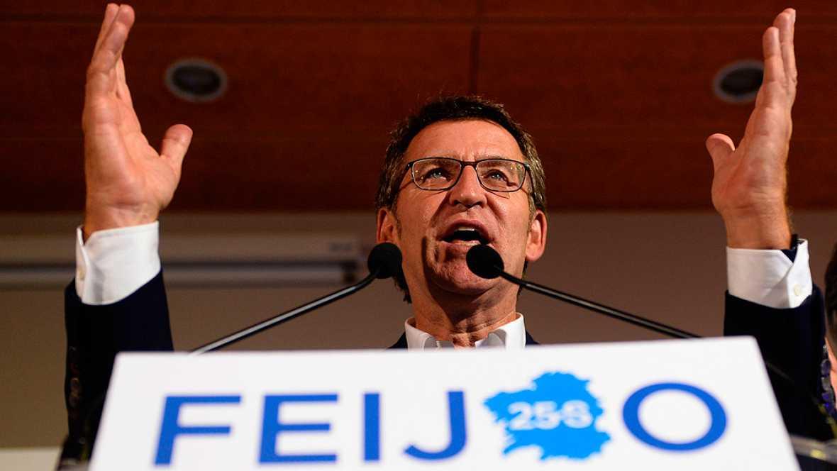 Elecciones gallegas: Tercera mayoría absoluta consecutiva para Feijóo