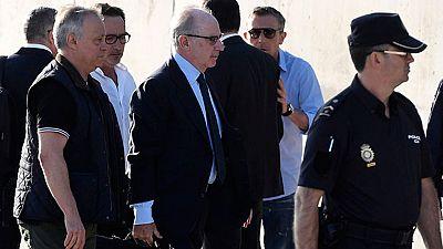 La Fiscalía pide seis años de prisión para Blesa y cuatro años y seis meses para Rato por emitir las tarjetas opacas