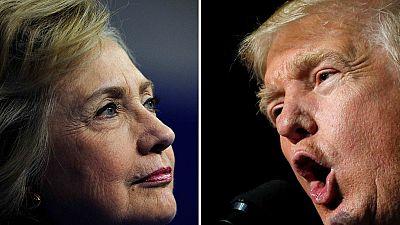 Hillary Clinton y Donald Trump se preparan para el primer debate