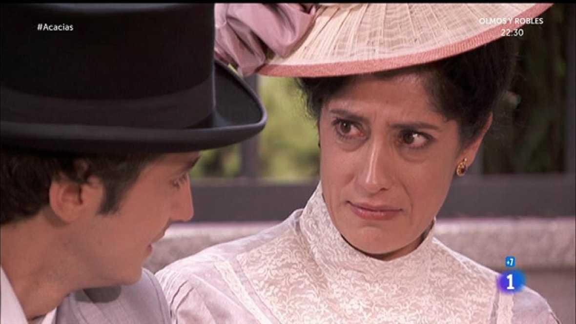 Rosina le dice a Liberto que tienen que dejar de verse