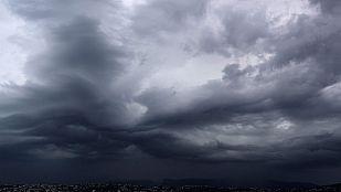 Tormentas fuertes en el sureste peninsular y Baleares