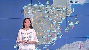 Tormentas fuertes en el este peninsular y en Baleares
