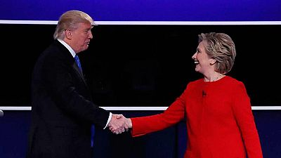 Clinton y Trump protagonizan un debate tenso con muchas acusaciones sobre sus pasados
