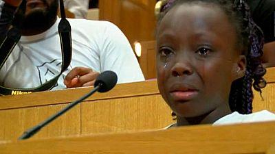 Conmovedor discurso de una niña contra la violencia policial en Charlotte