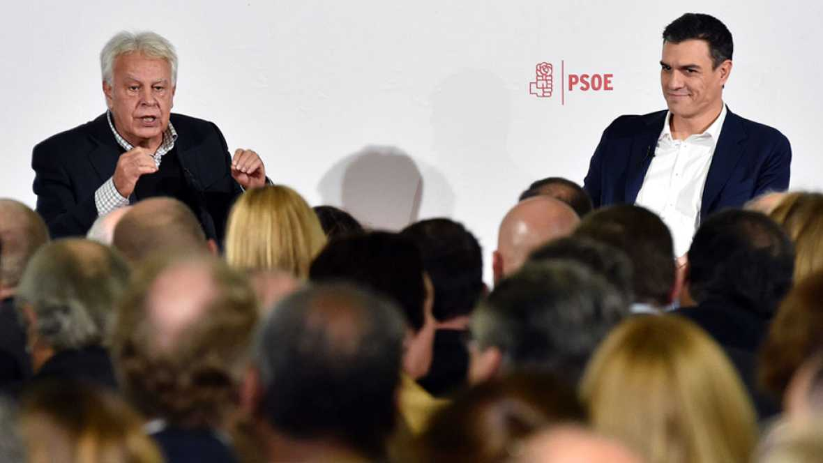 Felipe González dice sentirse 'engañado' por Sánchez