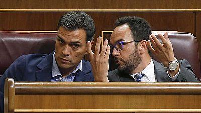 La situación interna del PSOE paraliza los movimientos para la formación de Gobierno